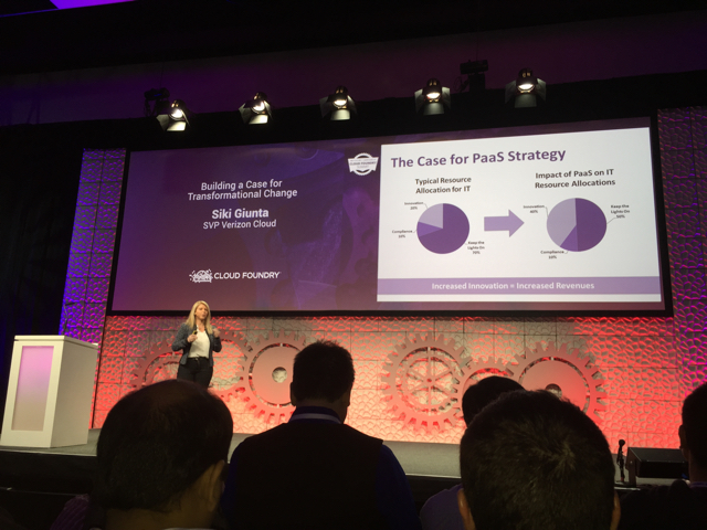 Cloud Foundry Summit'15: Building a Case for Transformational Change