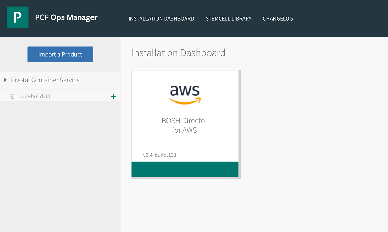 Automating Deployment of Pivotal Container Service on AWS