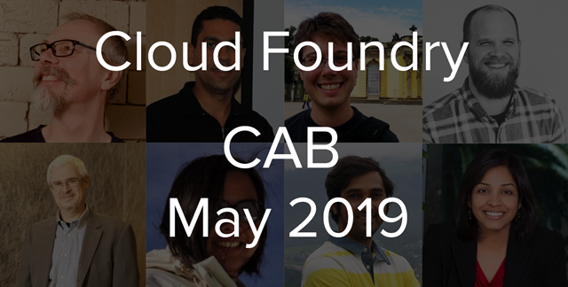 Cloud Foundry Advisory Board Meeting, May 2019: Sidecars and