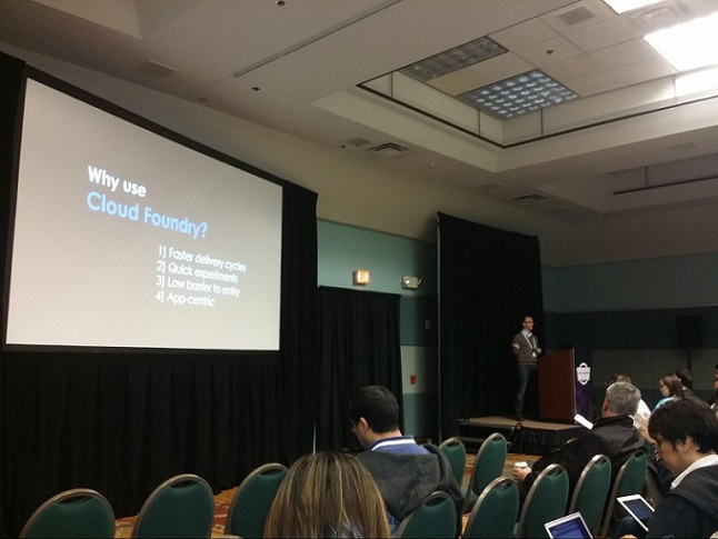 Cf Summit: Why use Cloud Foundry (Richard Seroter)
