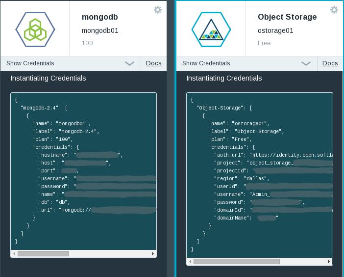ibm-bluemix-mongodb-object-storage-credentials-v1