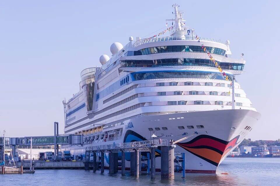 A Cruise Line Resumes Operation During COVID-19 with AI-Driven Fever Screening