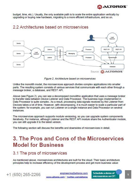 Microservices vs. Monolithic Architectures: The Pros, Cons ...